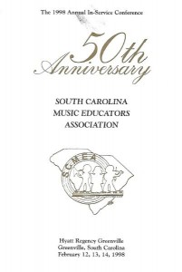 SCMEA 50TH ANNIVERSARY PROGRAM